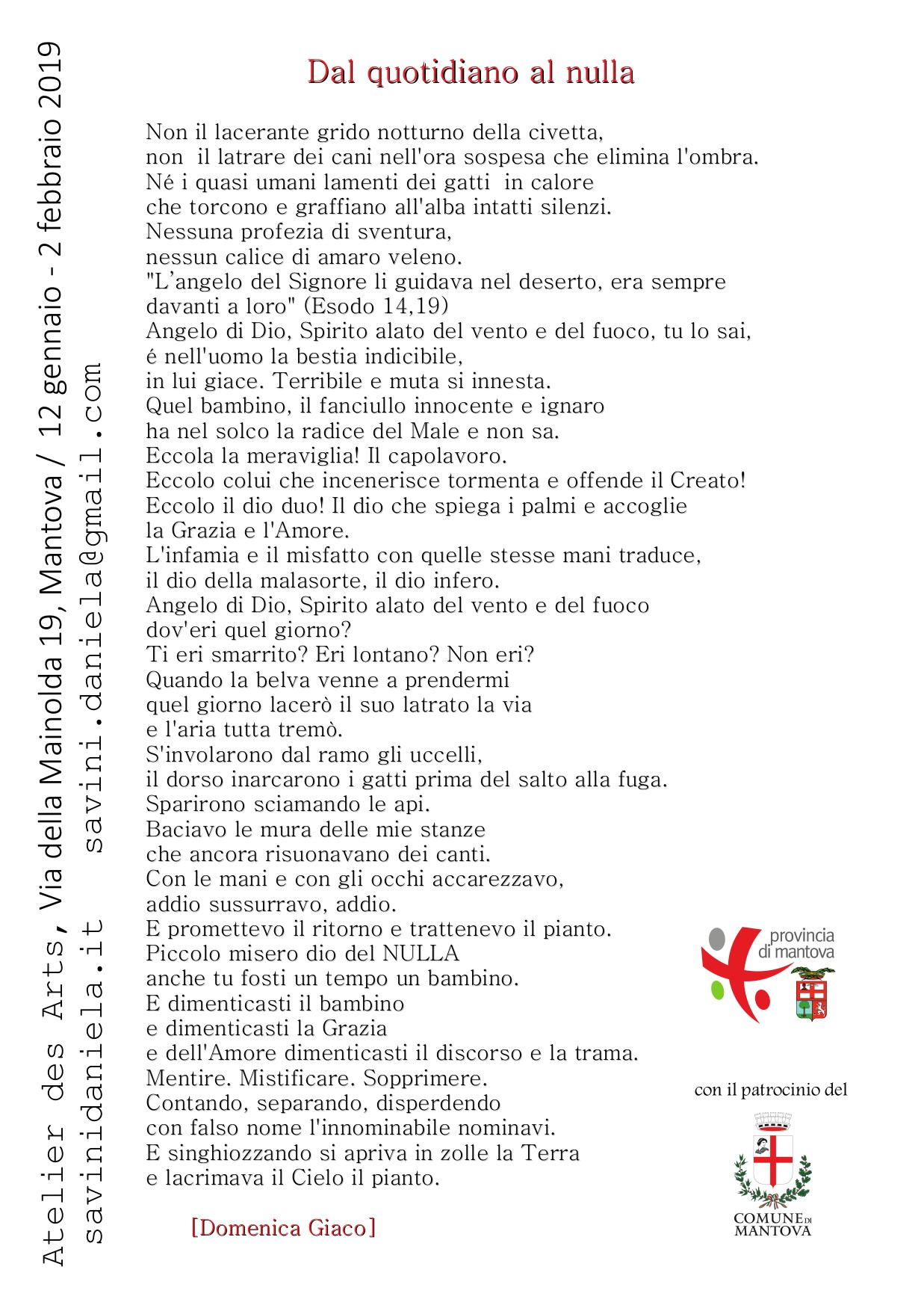 cartolina dal quotidiano al nulla p.2